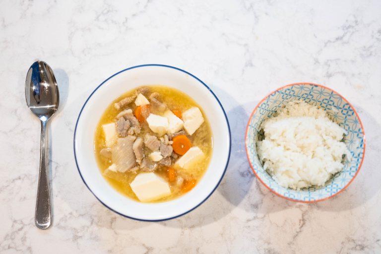 Tonjiro soup