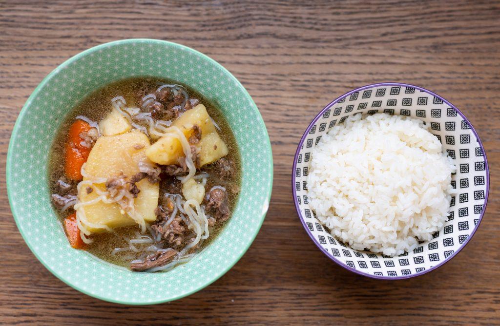 Instant Pot Nikujaga (Beef and Potato Stew)