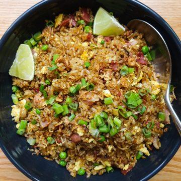 indonesian fried rice nasi goreng