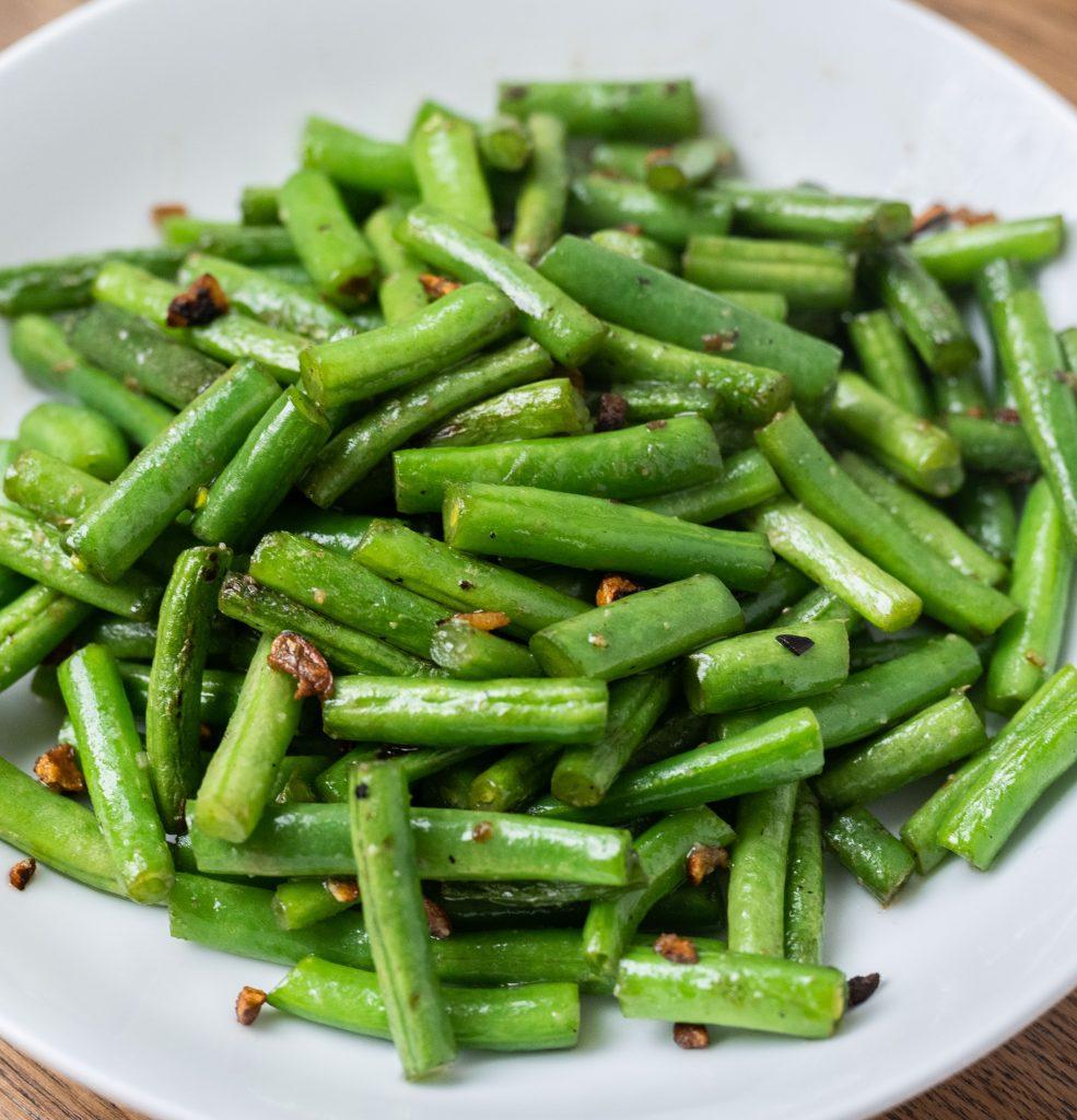 Garlic Stir-Fried Green Beans