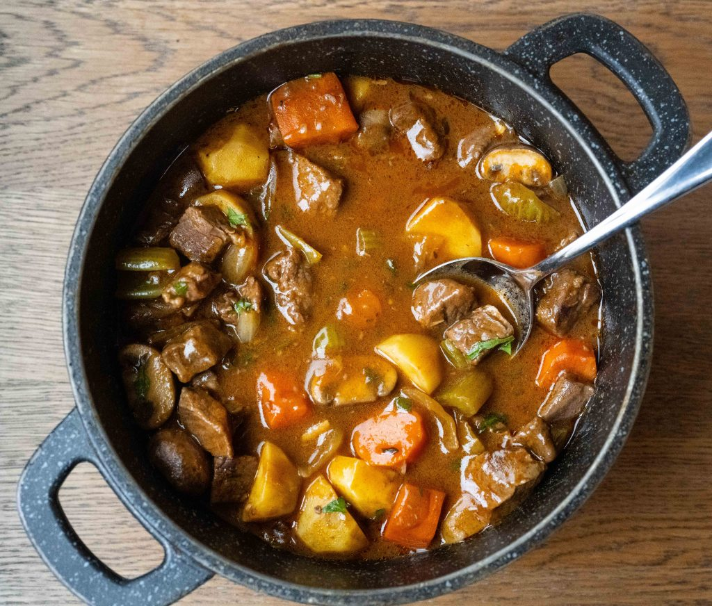Thick and Tasty Beef Stew Pot