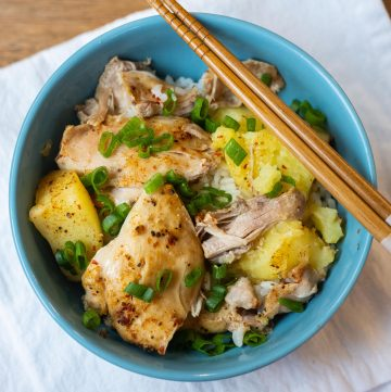 instant pot chicken and pot