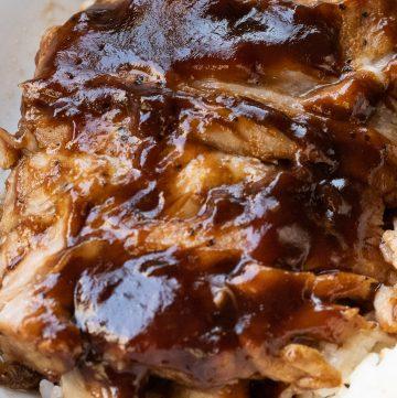 instant pot bbq pork rib