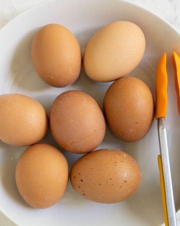 Instant pot easy peel hard boiled eggs