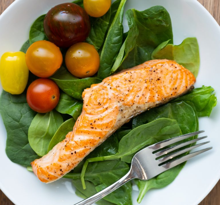 Quick and easy baked salmon