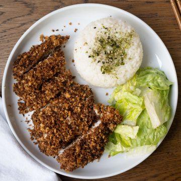 Baked Chicken Katsu
